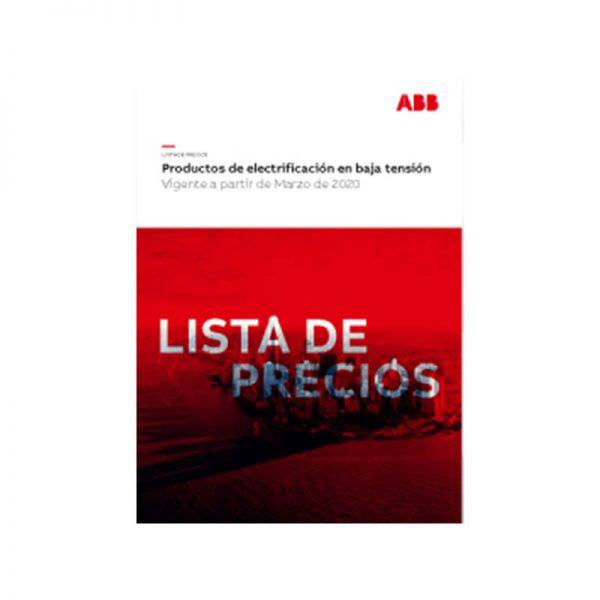 ABB Lista de precios