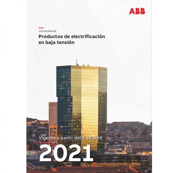 lista de precios equipos baja tension ABB