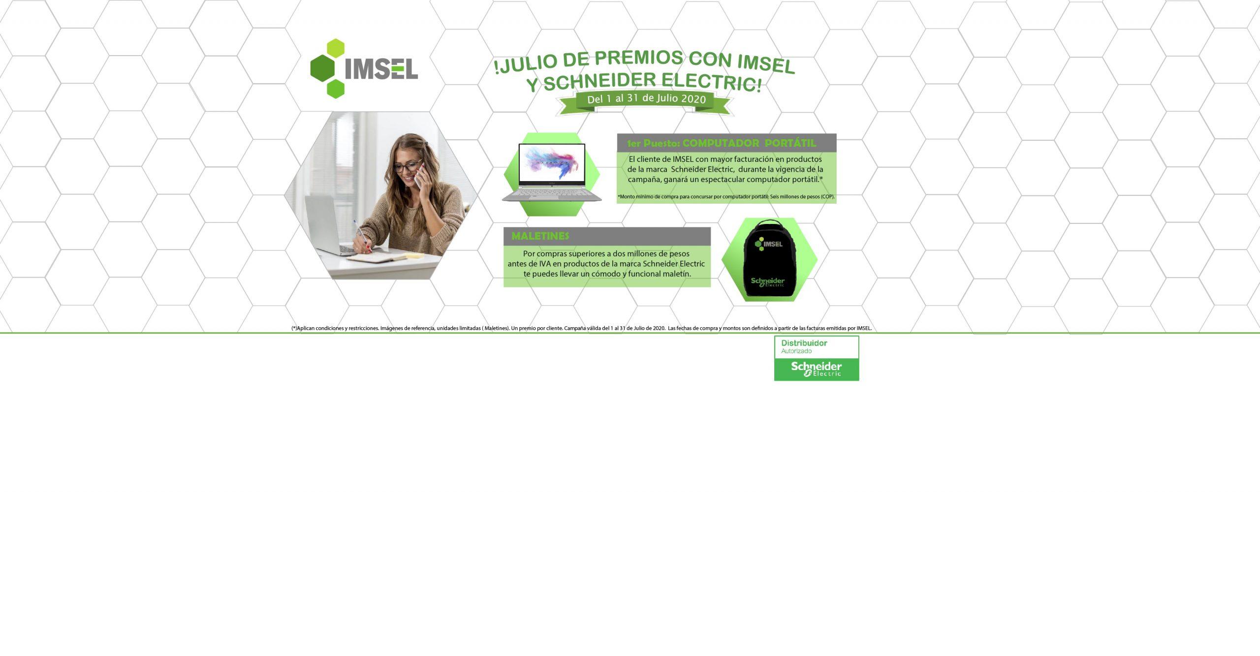 Campaña Julio IMSEL Schneider