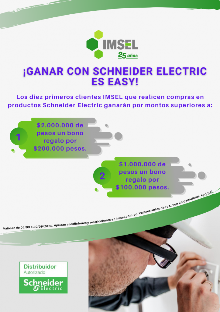 ¡Ganar con Schneider Electric es Easy!