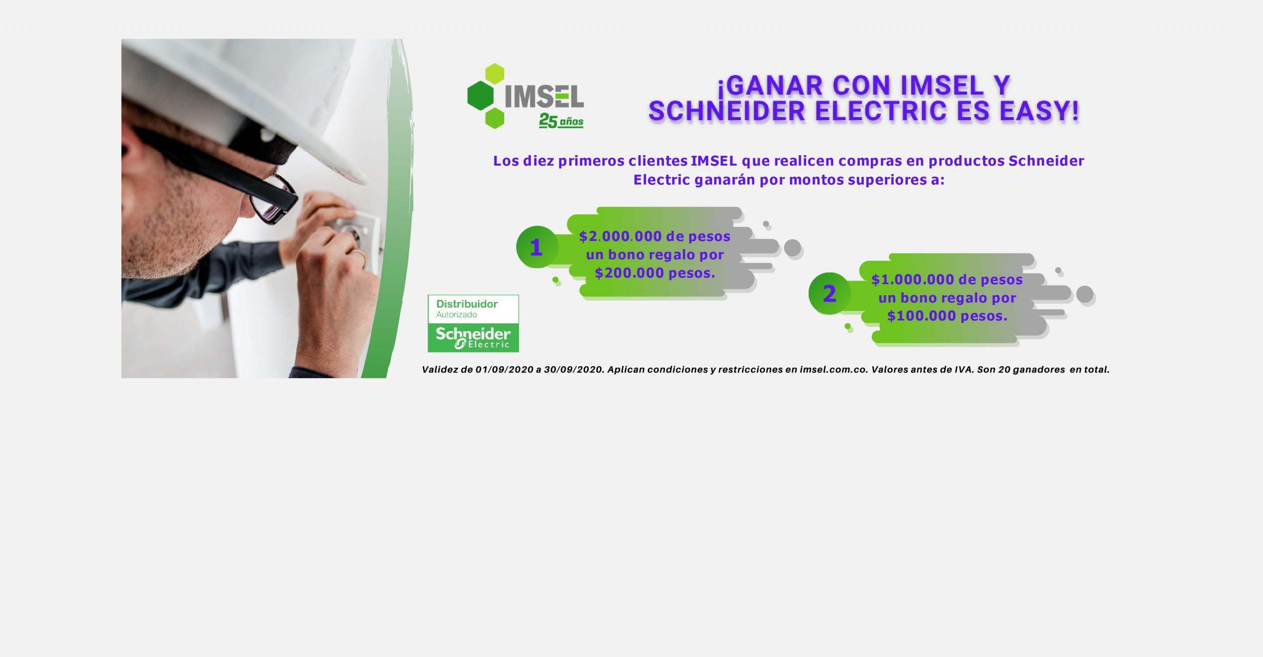 Campaña IMSEL-Schneider Septiembre 2020