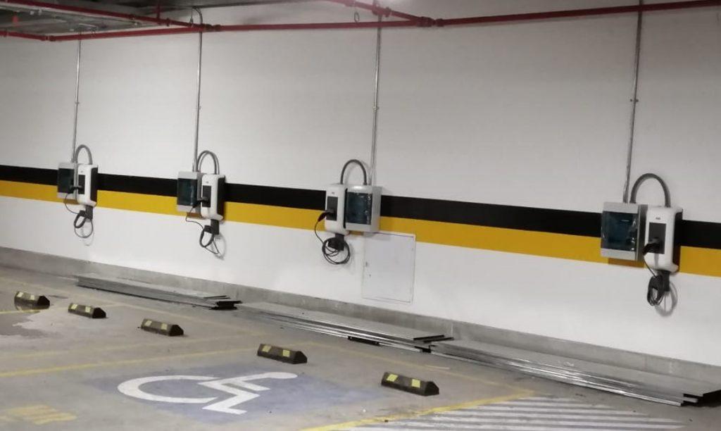 Cargadores vehiculares ABB Bogota