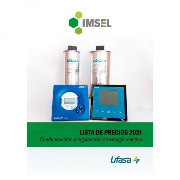 Lista de precios Condensadores Lifasa Colombia 2021