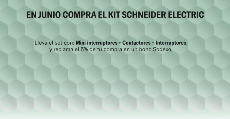 ¡En Junio compra el kit Schneider Electric!